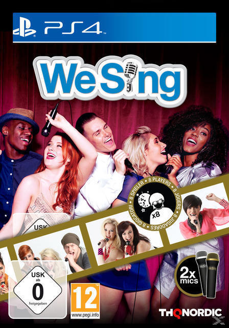 We Sing (inkl. 2 Mikrofonen) (PlayStation 4) für 49,99 Euro