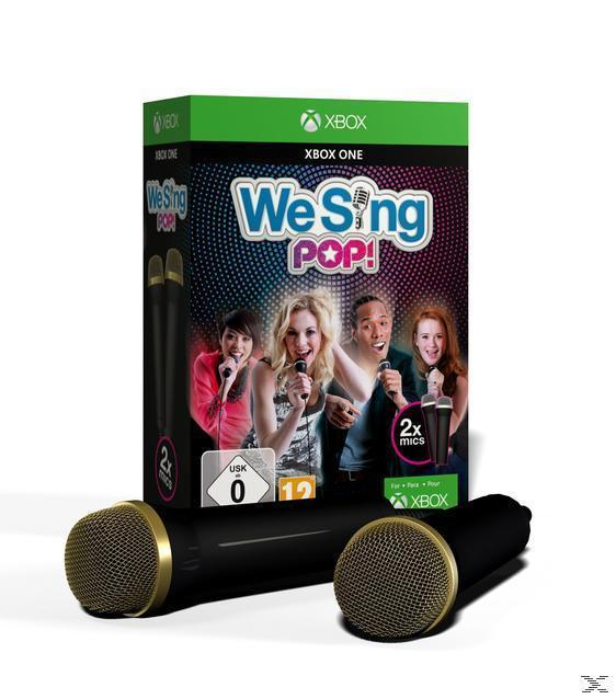 We Sing Pop (inkl. 2 Mikrofonen) (Xbox One) für 49,99 Euro