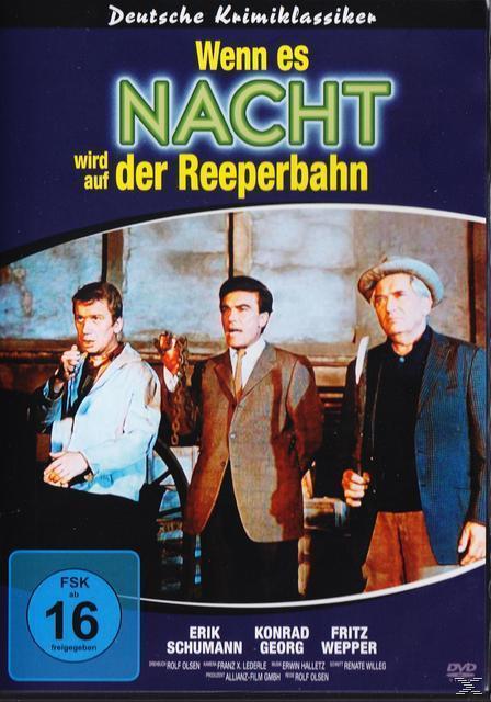 Wenn es Nacht wird auf der Reeperbahn (DVD) für 9,99 Euro