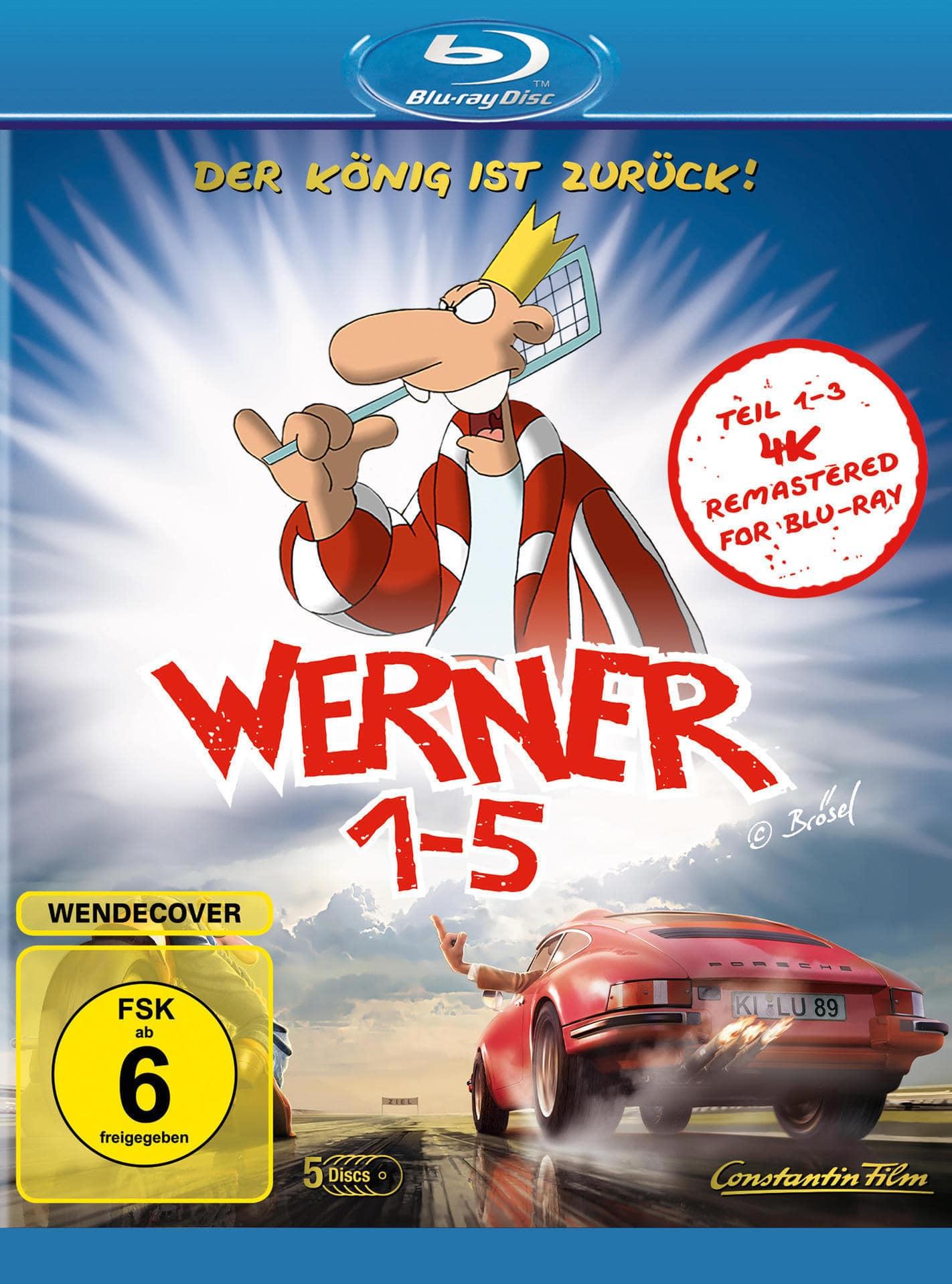 Werner 1-5 Königbox BLU-RAY Box (BLU-RAY) für 22,99 Euro