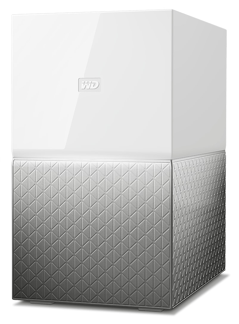 Western digital My Cloud Home Duo 4TB externe Festplatte USB 3.0 Typ A für 289,00 Euro
