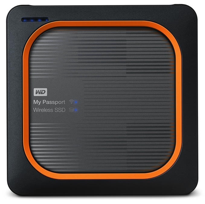 Western digital MY PASSPORT Wireless SSD 500GB SSD-Speicher SD-Kartenleser für 299,90 Euro