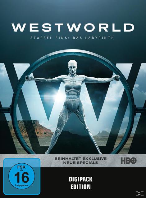 Westworld - Staffel 1: Das Labyrinth DVD-Box (DVD) für 19,99 Euro