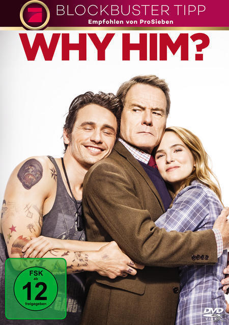 Why Him? (DVD) für 12,99 Euro