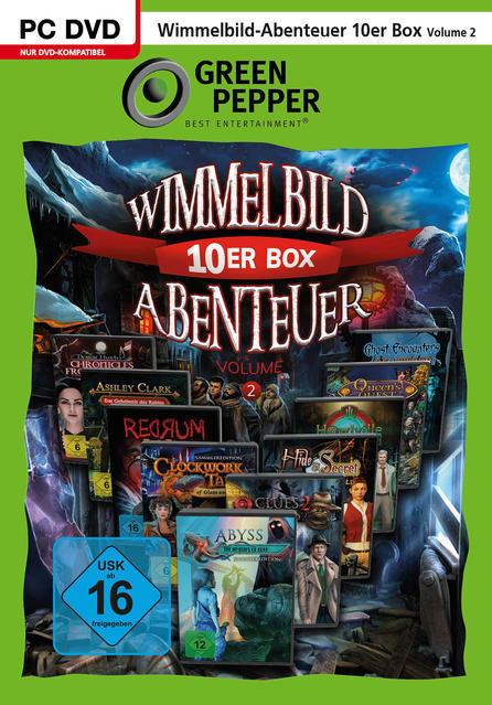 Wimmelbild-Abenteuer 10er Box - Volume 2 (PC) für 6,99 Euro