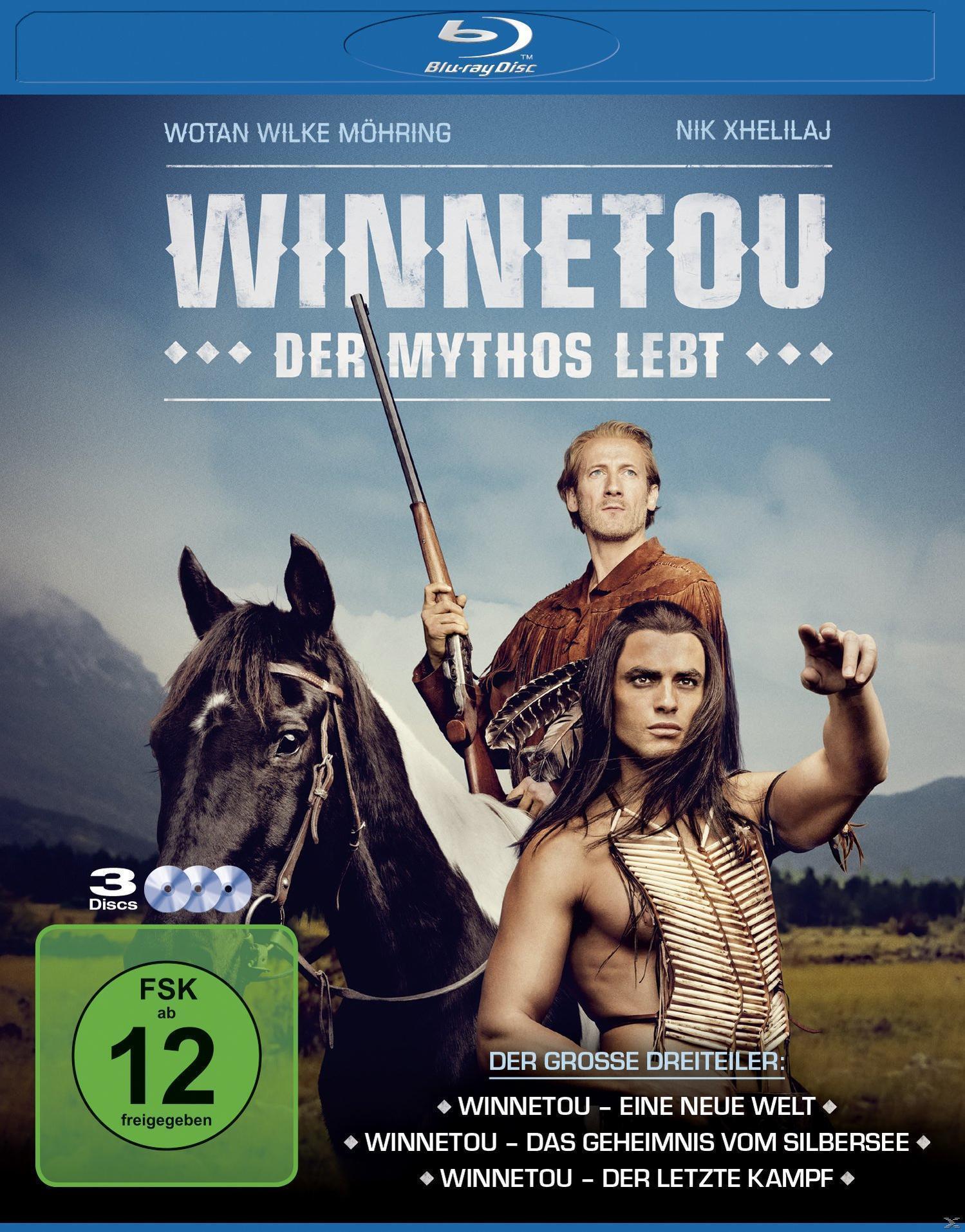 Winnetou - Der Mythos lebt (BLU-RAY) für 29,99 Euro