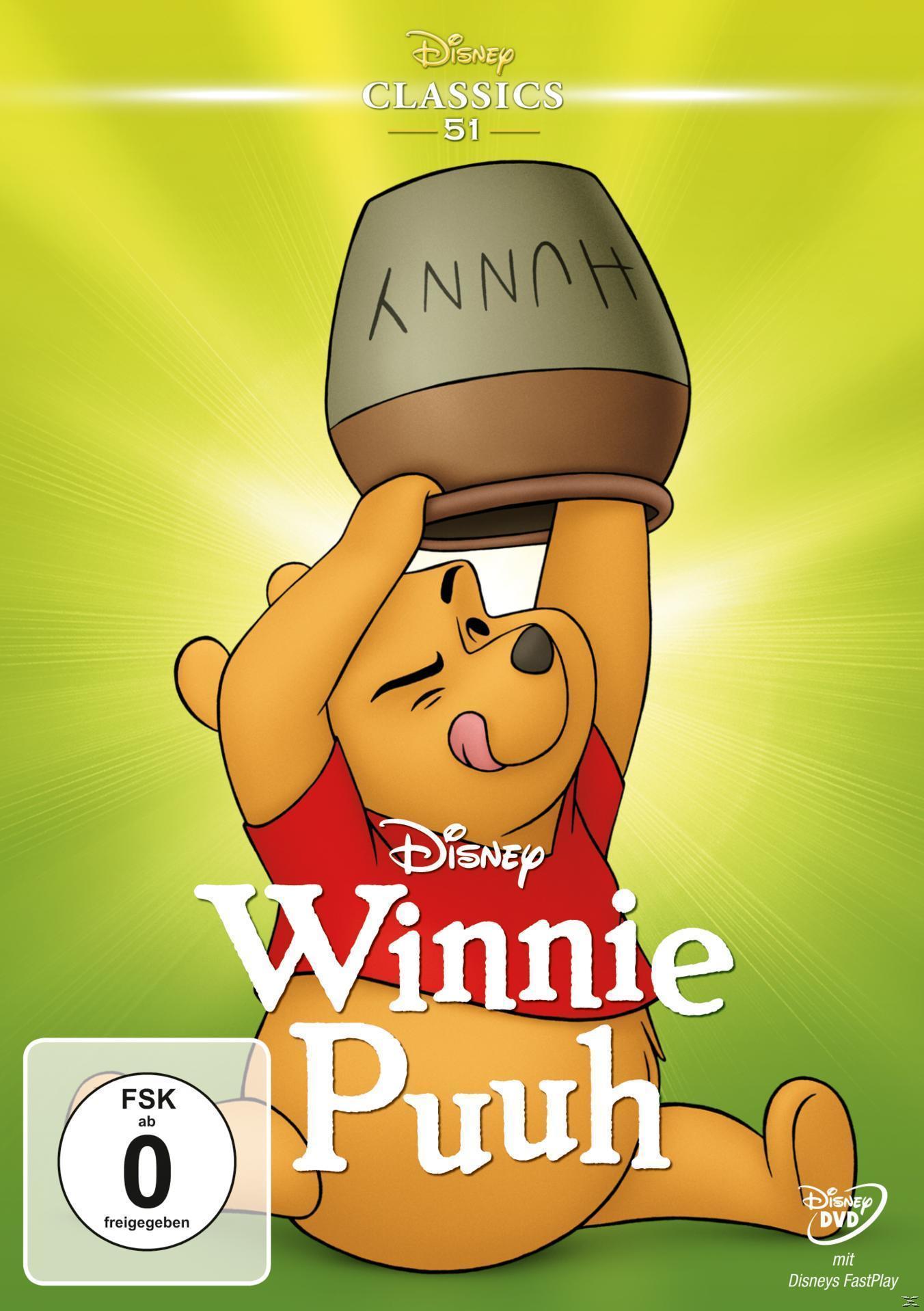 Winnie Puuh Classic Collection (DVD) für 12,99 Euro