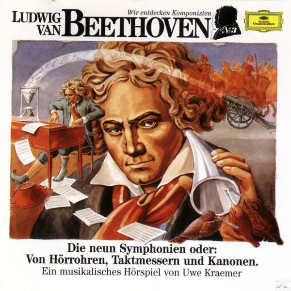 Wir Entdecken Komponisten-Beethoven 3: 9 Symph (Uwe Kraemer) für 8,49 Euro