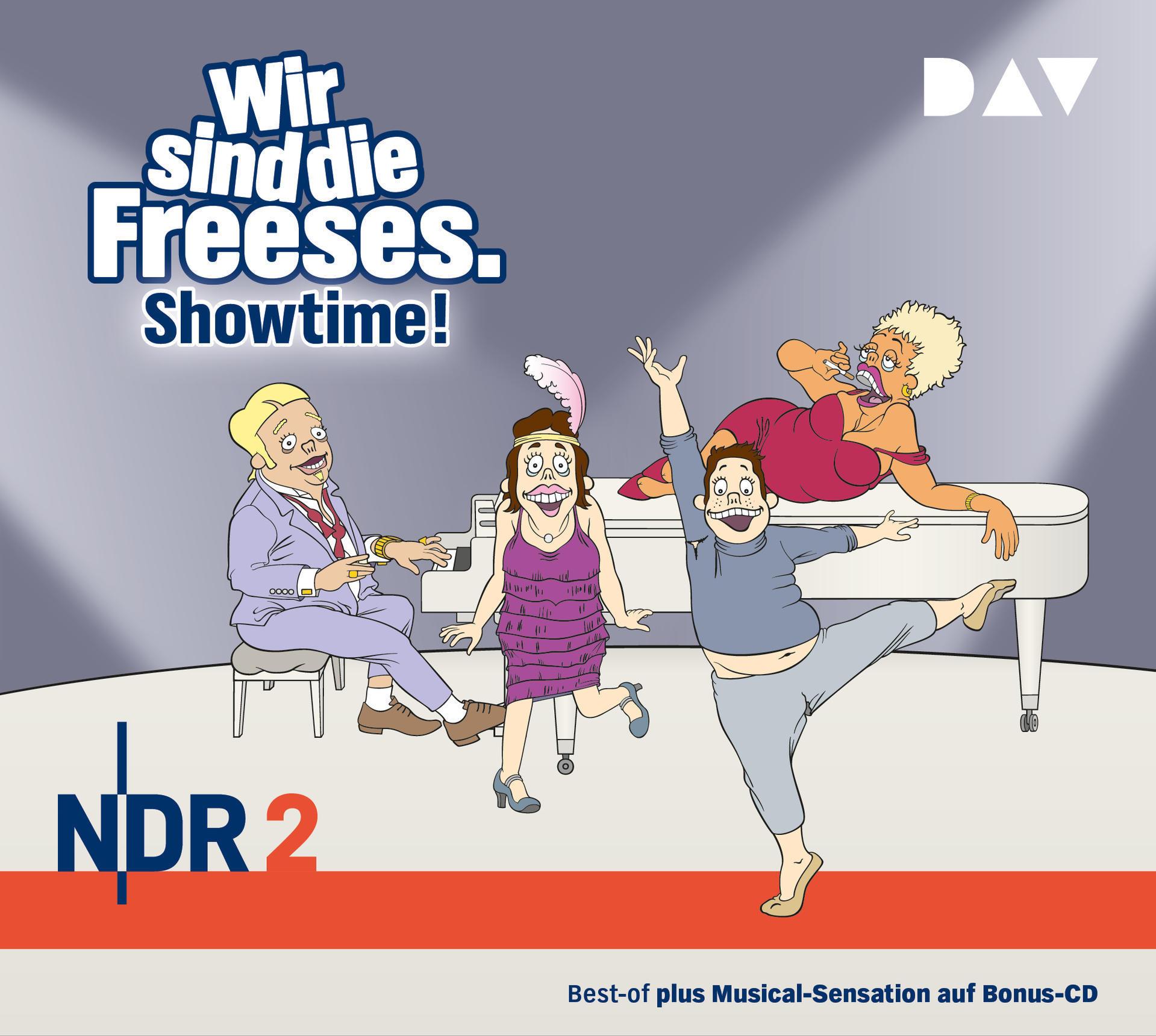 Wir sind die Freeses. Showtime! (CD(s)) für 18,99 Euro