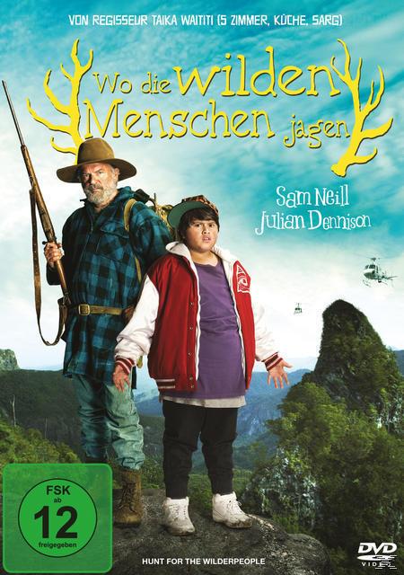 Wo die wilden Menschen jagen (DVD) für 12,99 Euro
