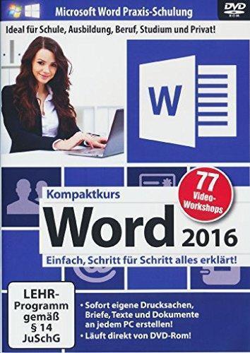 Word 2016 Kompaktkurs (PC) für 12,99 Euro
