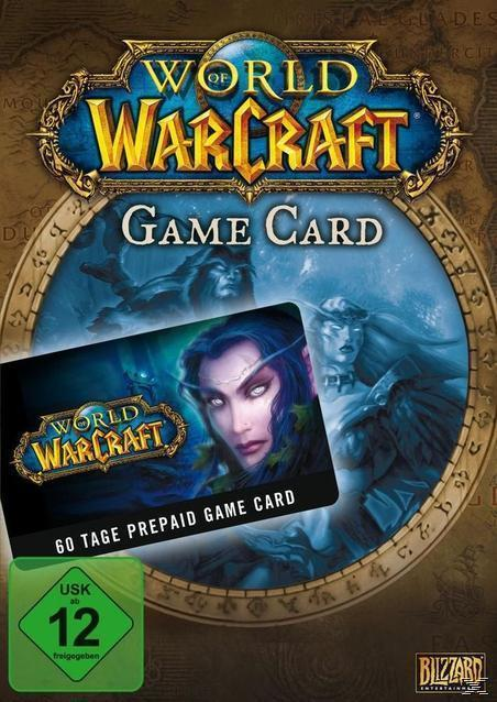 World of Warcraft - GameCard (60 Tage Pre-Paid) (PC) für 27,00 Euro