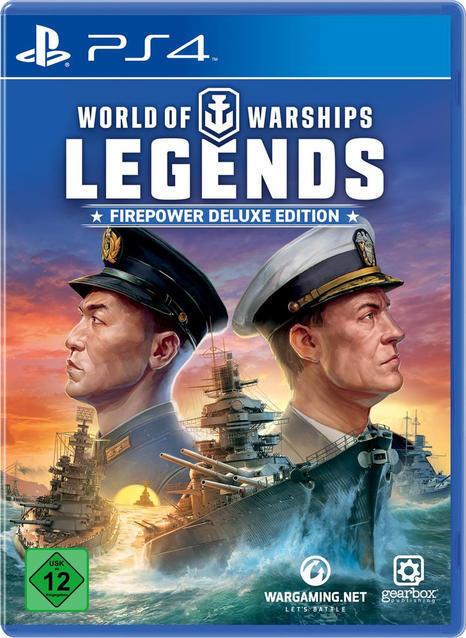 World of Warships Legends - Firepower Deluxe Edition (PlayStation 4) für 39,99 Euro