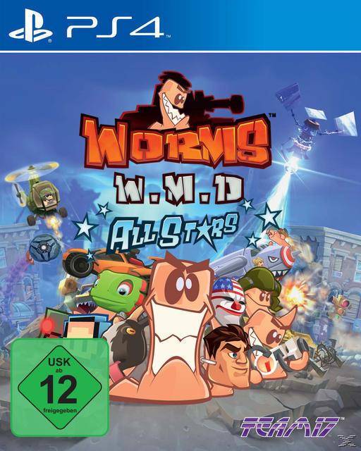 Worms: W.M.D. All Stars (PlayStation 4) für 29,99 Euro