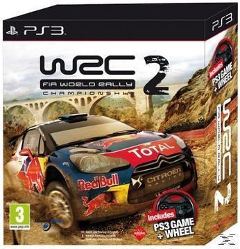 WRC 2: FIA World Rally Championship + Wheel (Playstation3) für 34,99 Euro