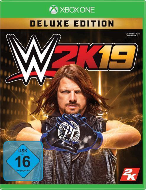 WWE 2K19 Deluxe Edition (Xbox One) für 94,99 Euro