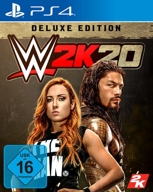 WWE 2K20 - Deluxe Edition (PlayStation 4) für 99,99 Euro