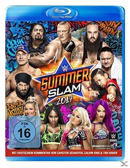 WWE - SUMMERSLAM 2017 (BLU-RAY) für 6,99 Euro