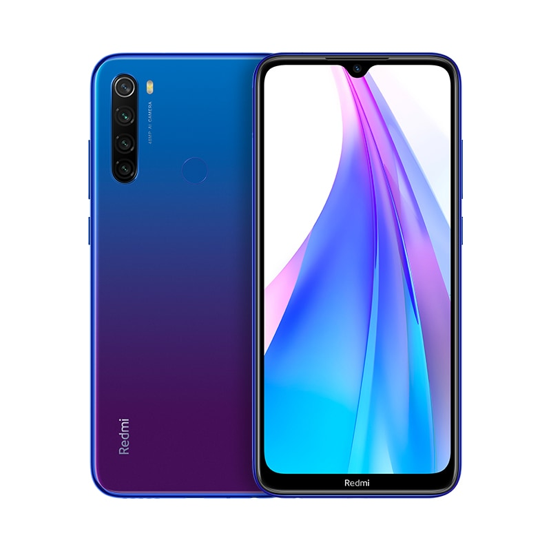 "Xiaomi Redmi Note 8T  Smartphone 16cm/6,3"" Android 48MP 64GB für 169,00 Euro"