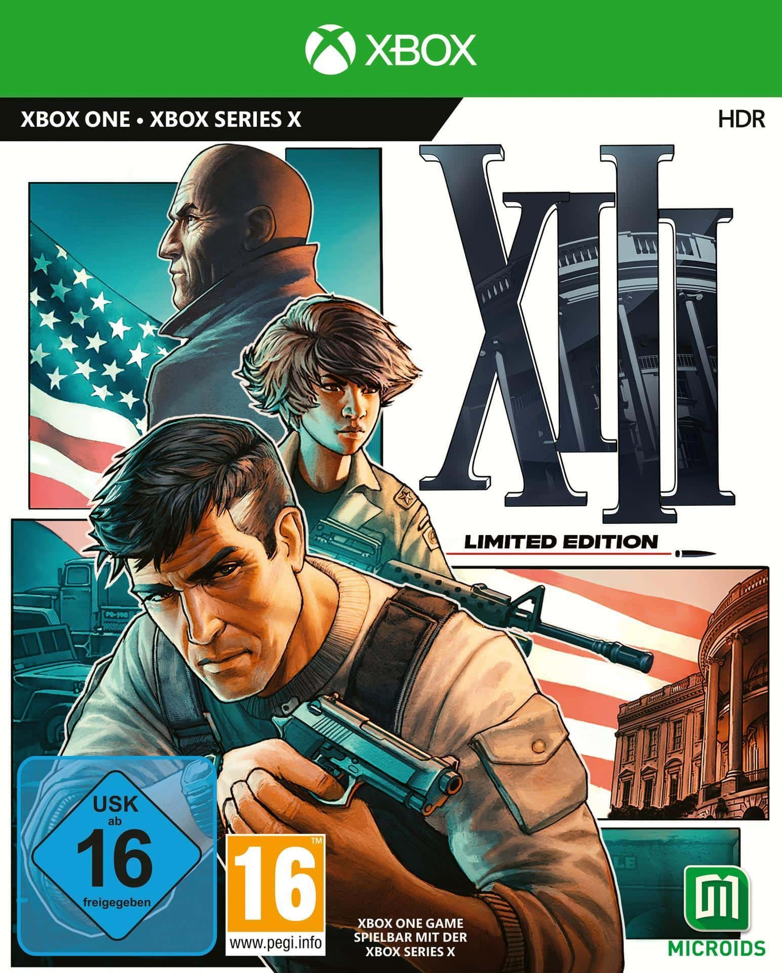 XIII - Limited Edition (Xbox One) für 49,99 Euro
