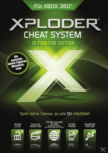 Xploder Ultimate XBox360 Cheating System Pro 2013 (PC) für 19,99 Euro