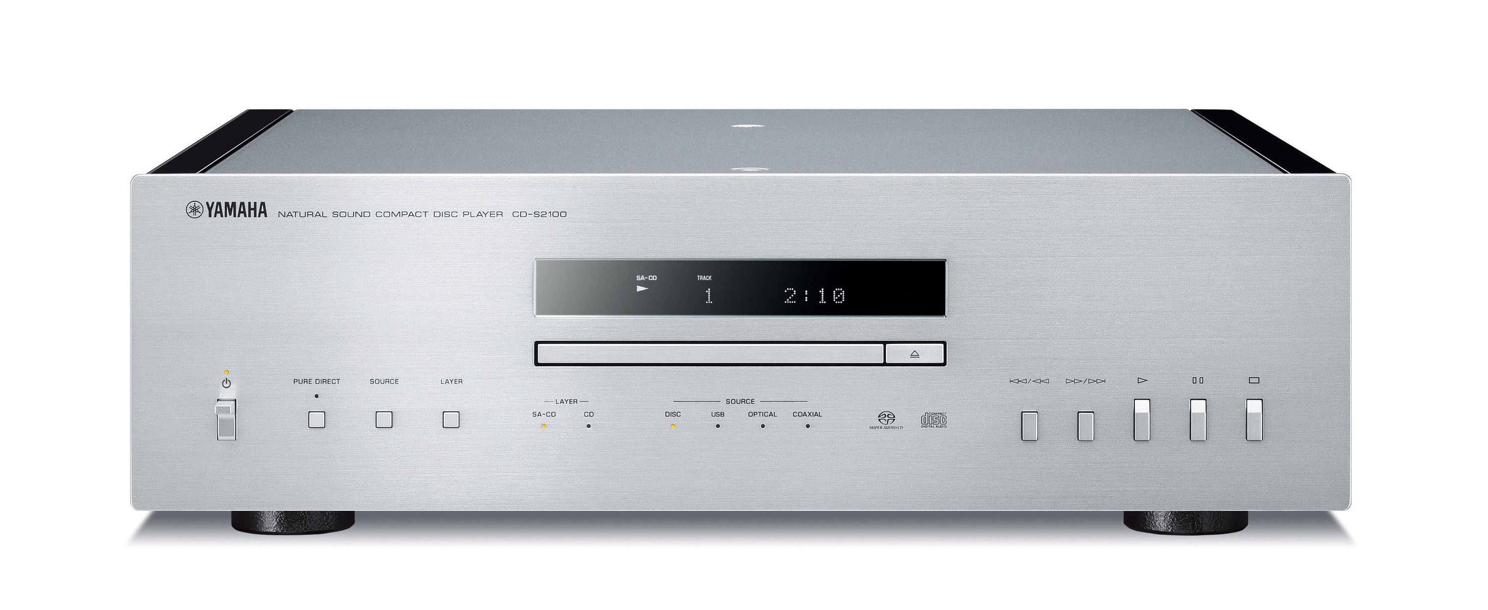 Yamaha CD-S2100 High-End CD-Player USB Audio DAC Vibrationskontrolle für 2.299,00 Euro