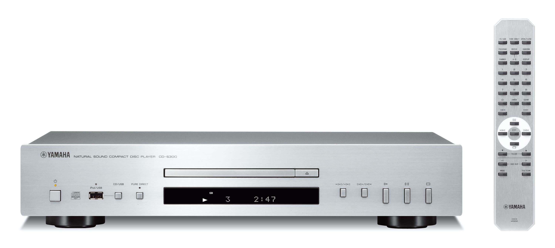 Yamaha CD-S300 CD-Player MP3-Wiedergabe USB für 209,99 Euro
