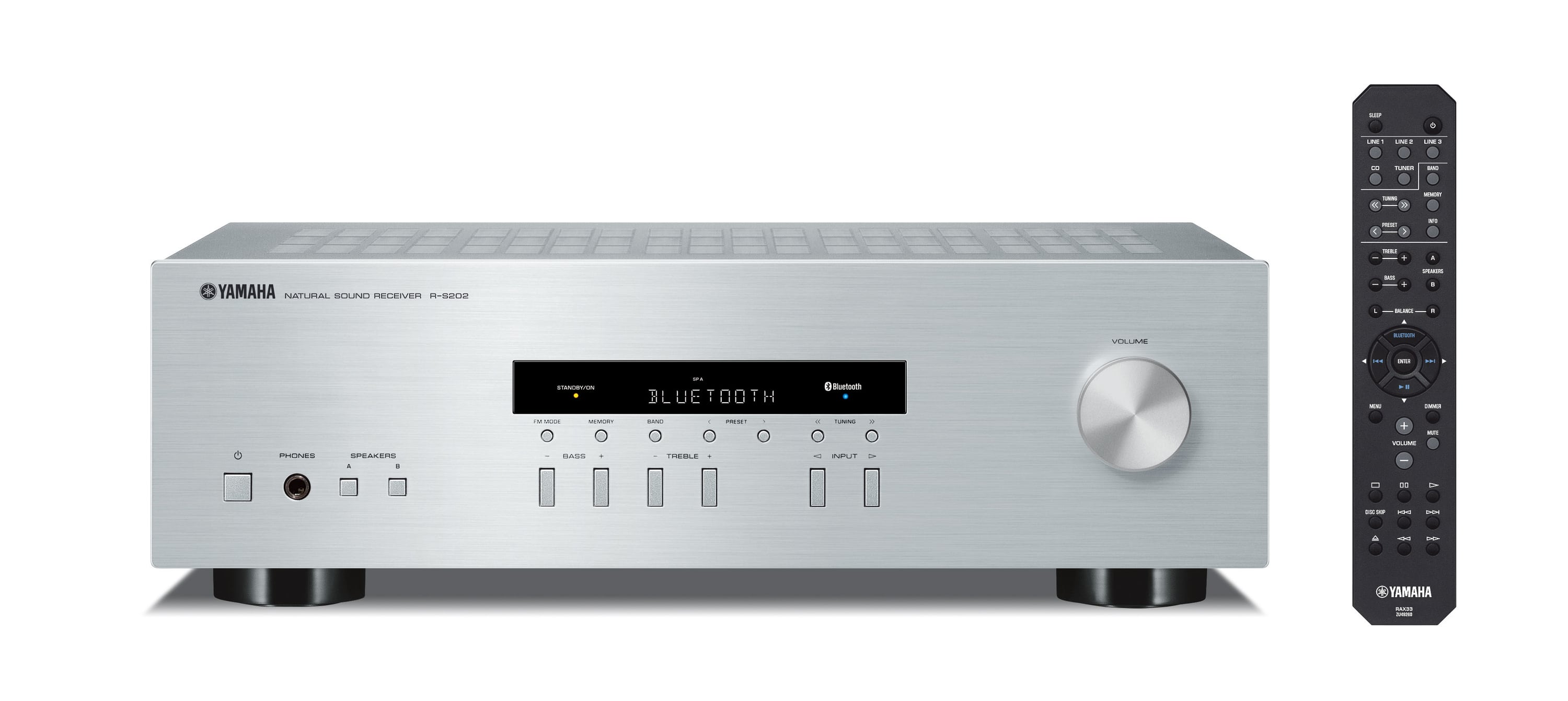 Yamaha R-S202 D Stereo-Receiver 140W pro Kanal UKW/MW/DAB/DAB+ Tuner für 184,24 Euro