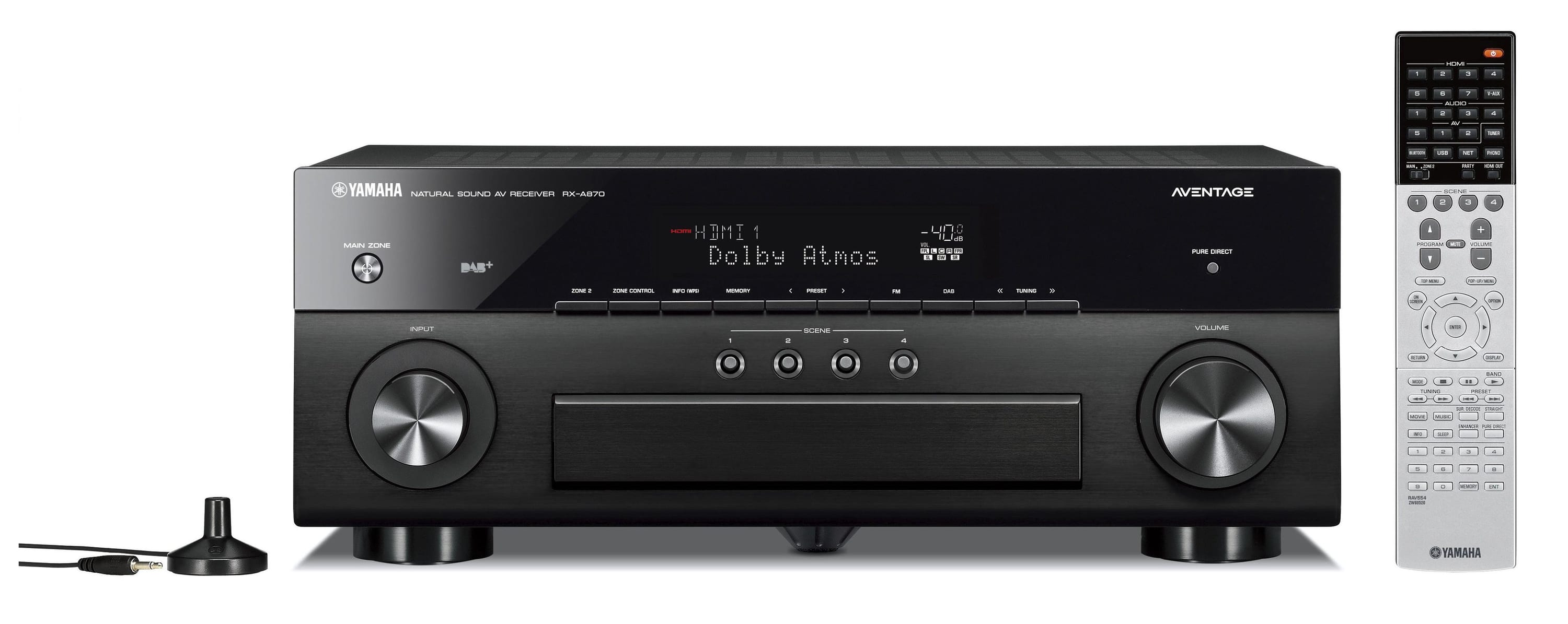 yamaha rx a870 7 2 kanal av receiver von expert technomarkt. Black Bedroom Furniture Sets. Home Design Ideas