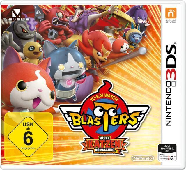 YO-KAI WATCH BLASTERS: Rote-Katzen-Kommando (Nintendo 3DS) für 39,99 Euro