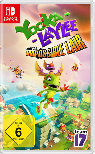 Yooka-Laylee and the Impossible Lair (Nintendo Switch) für 29,23 Euro
