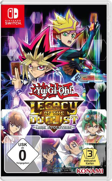 Yu-Gi-Oh! Legacy Of The Duelist: Link Evolution (Nintendo Switch) für 29,99 Euro