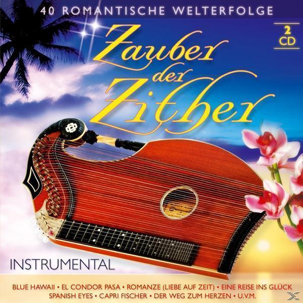 Zauber der Zither-40 romantische Welterfolge (VARIOUS) für 7,99 Euro