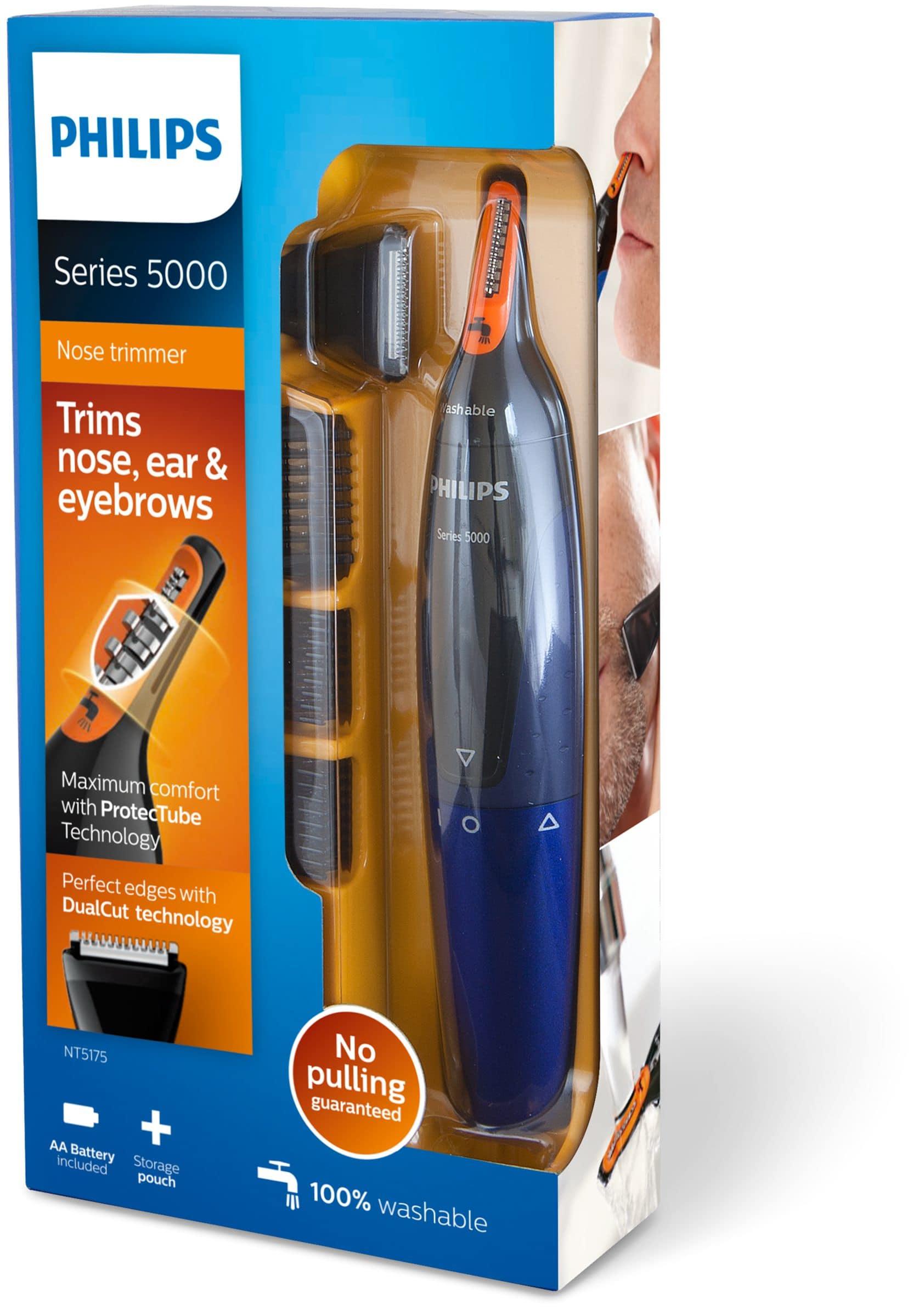 Philips NT517516 Nasenhaartrimmer Batteriebetrieb