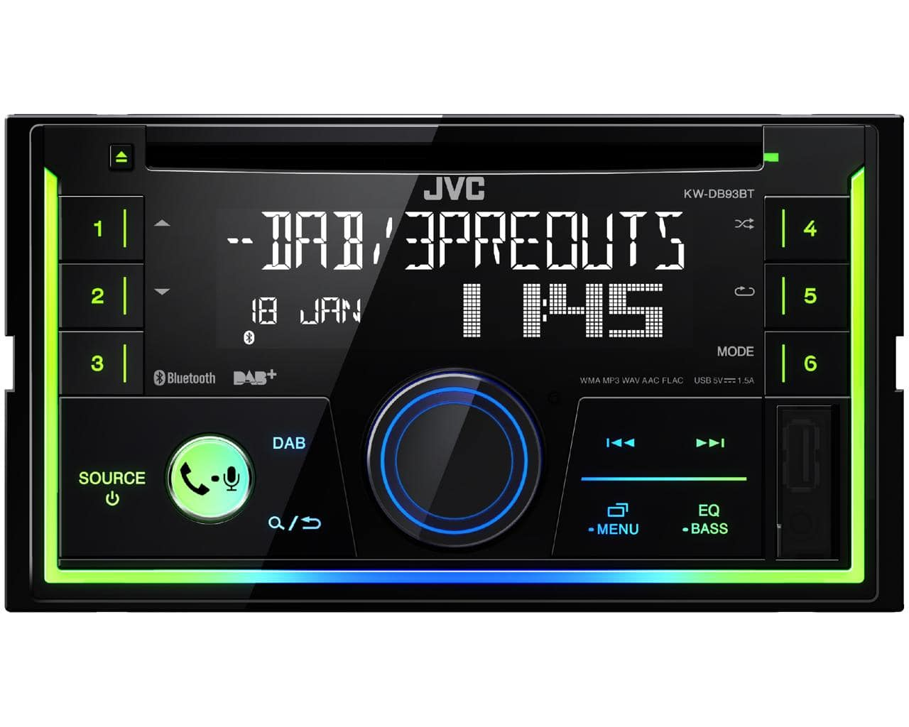 jvc kw db93bt doppel din autoradio von expert technomarkt. Black Bedroom Furniture Sets. Home Design Ideas