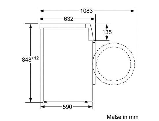 Fabulous Bosch WAW28570EX Waschmaschine 9kg 1400 U/min A+++ Frontlader CB83