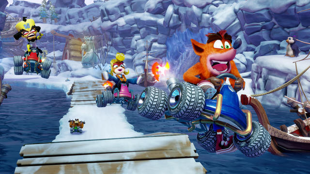 CTR Crash Team Racing Nitro Fueled (PlayStation 4) mehr Infos