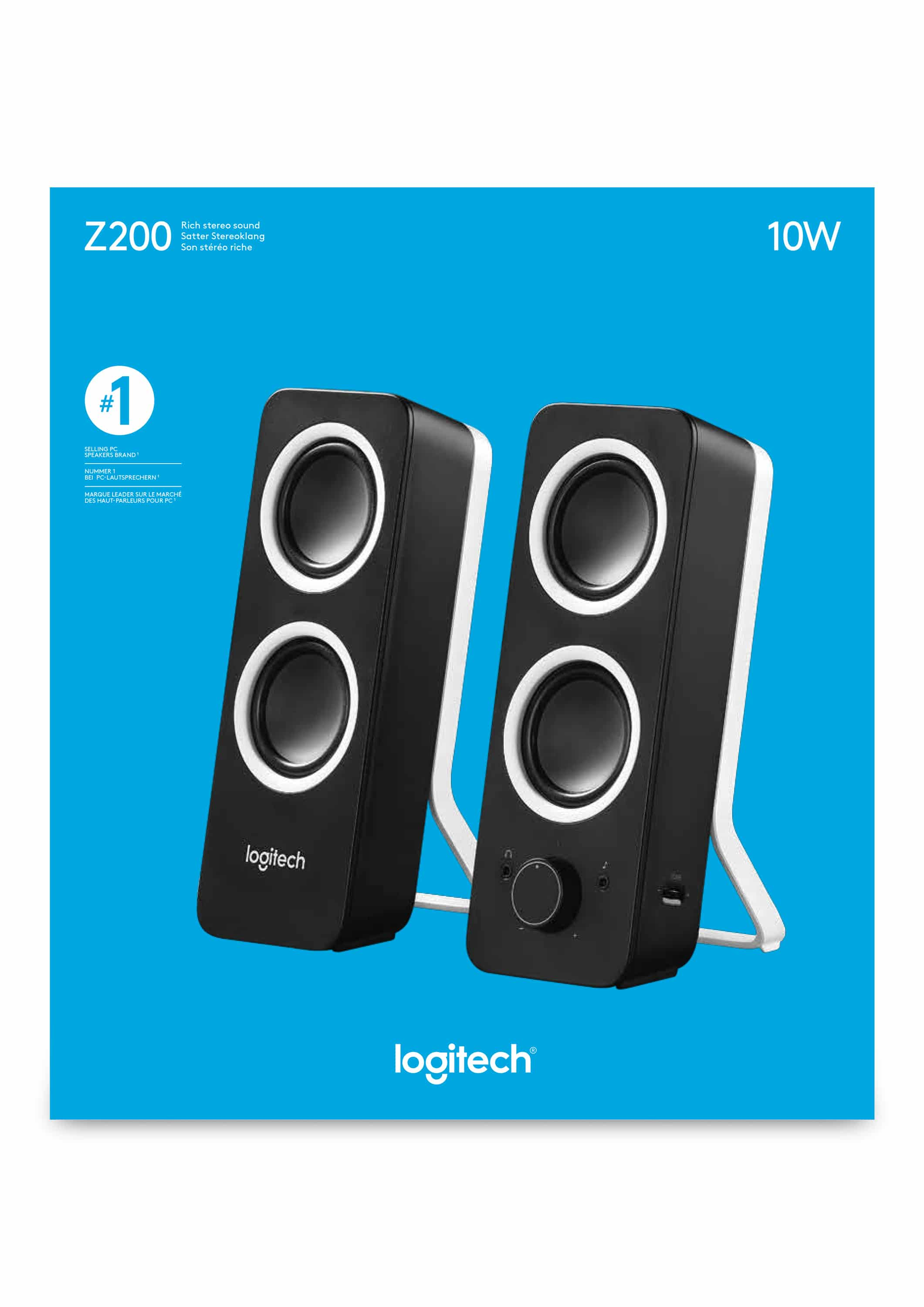 Logitech Z200 Lautsprecher Zwei 63cm Von Expert Technomarkt Z120 Usb Stereo Speaker For Laptop Notebook Pc Pro Satellit