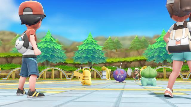 Nintendo Of Europe Pokémon Let S Go Pikachu Pokéball Plus